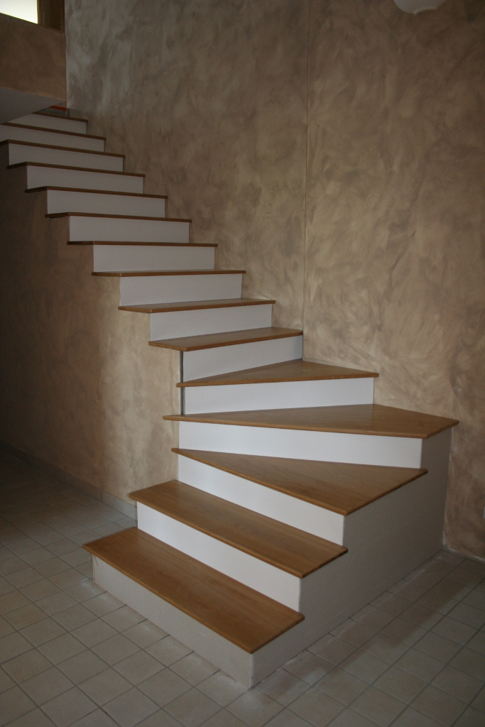 Revetement Escalier Beton Interieur Architecture Design