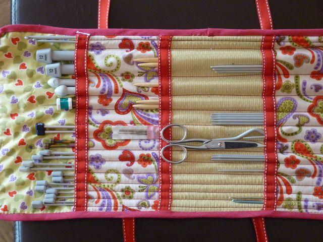 special section sale sleek Les Fées Tisseuses :: Ma trousse à aiguilles à tricoter