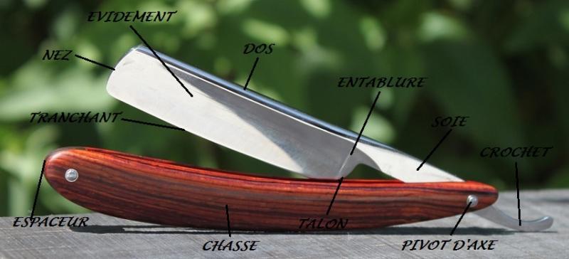 Le retour du coupe chou anatomie des diff rents rasoirs droits - Se raser avec un coupe chou ...