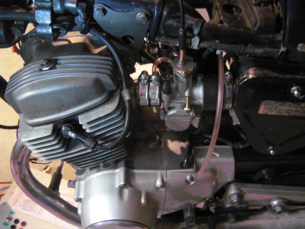 Honda 125 Twin Carburation Carburateur Keihin Nouvelle Generation Polini