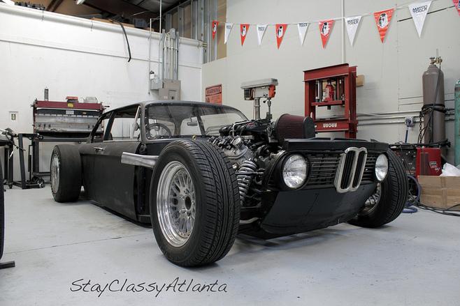 Populaire Autopassion, la passion de l'auto sur un forum - Rat rod BMW TC57