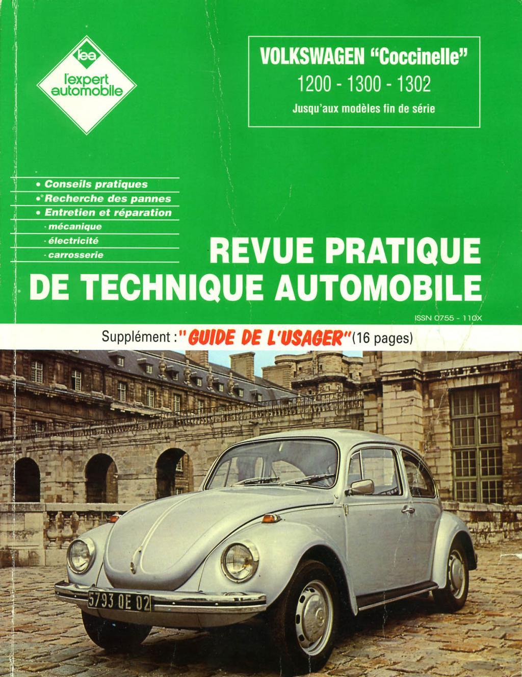 forum vehicules anciens lebracenvrac revue technique automobile volkswagen coccinelle. Black Bedroom Furniture Sets. Home Design Ideas
