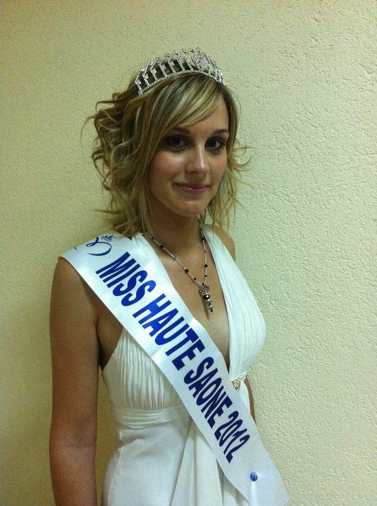 Miss cie miss haute saone 2012 angelique laroche for 71 haute saone