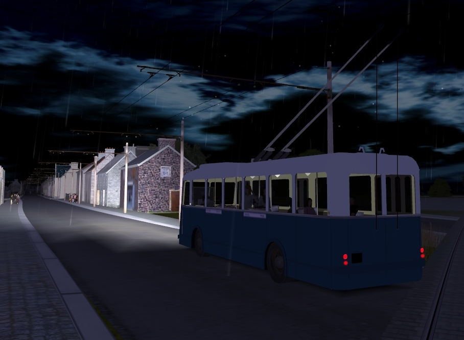 trainz orient express cr a les trolleybus fran ais. Black Bedroom Furniture Sets. Home Design Ideas
