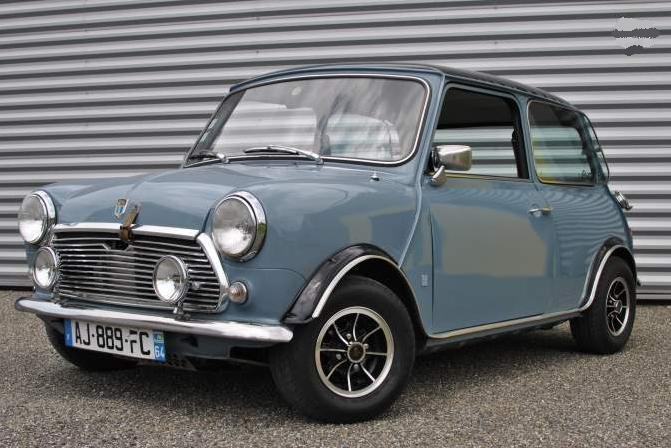 seventies garage mini brital bits