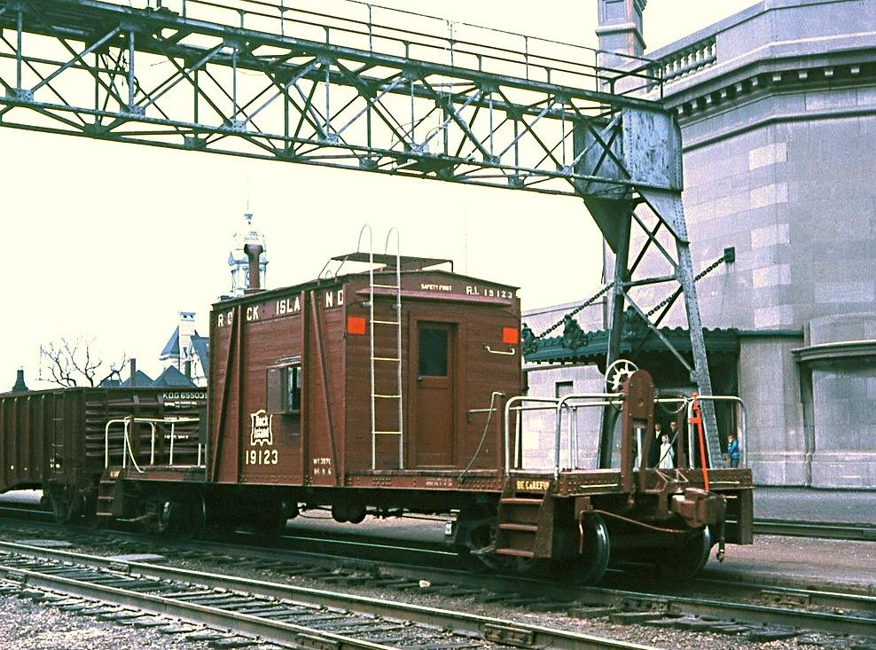 Rock Island Railroad Bar