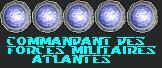 Commandant des Forces Militaires Atlantes (VL)