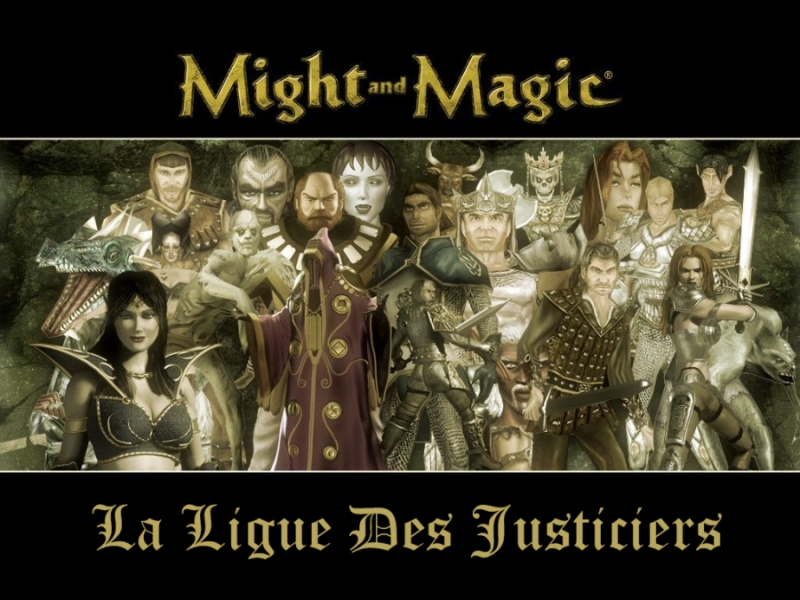 La ligue des justiciers. Index du Forum