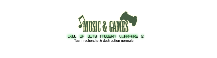 ~Music & Games~ Index du Forum