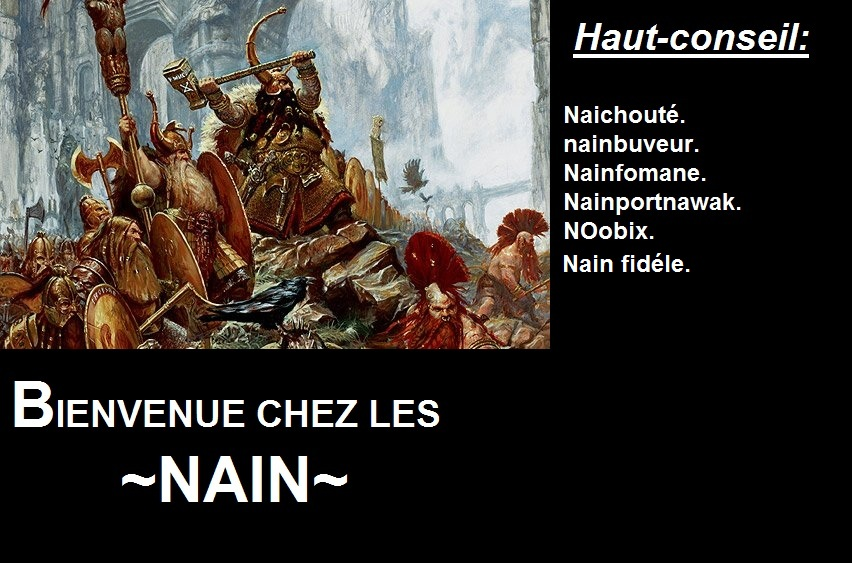 les nains Index du Forum