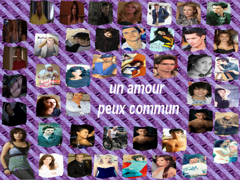 un amour peux commun Index du Forum