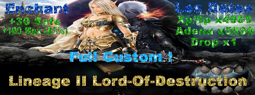 Lineage II LOD Index du Forum