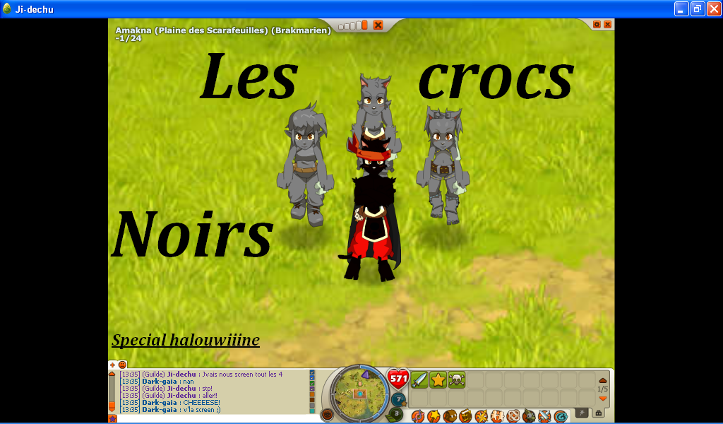 les crocs noirs Forum Index