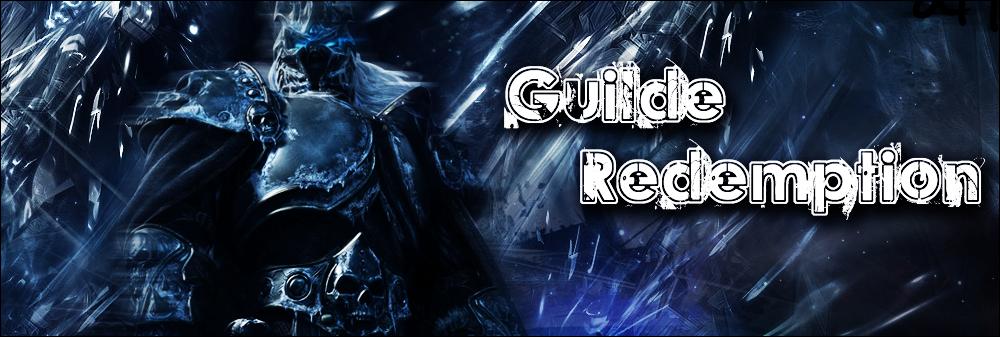 guilde-redemption Index du Forum