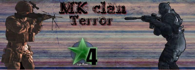 Bienvenu sur le site de la team MK sur COD 4 Index du Forum
