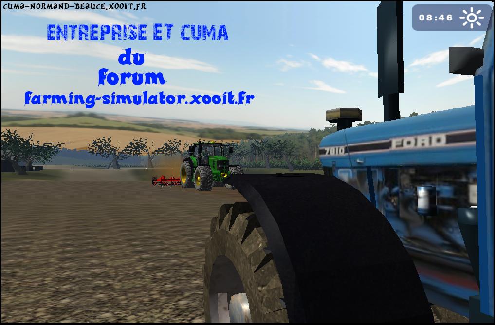 cumas de l'entreprise virtuelle de   http://farming-simulator.xooit.fr/index.php Index du Forum