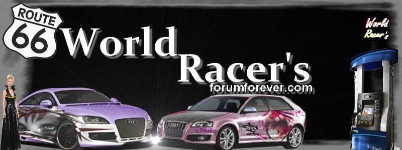 world racer's Index du Forum