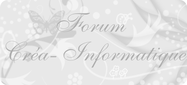 Créa-Informatique Index du Forum
