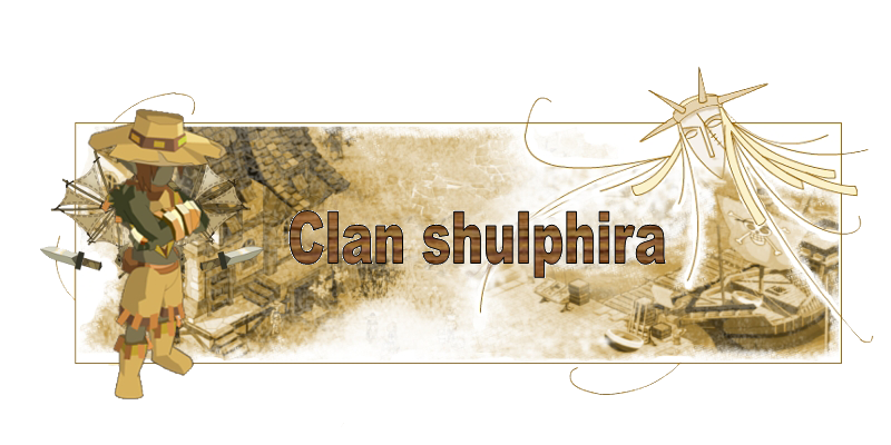 clan shulphira Index du Forum
