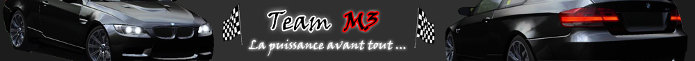 Team M3 Index du Forum