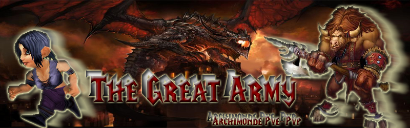 the great army Index du Forum
