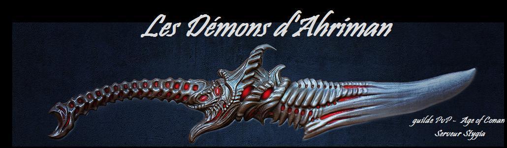 Les Démons d'Ahriman Index du Forum