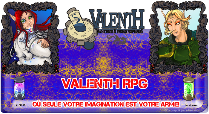 Forum RPG Valenth Index du Forum