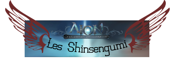 新選組 Le ShinsenGumi 新選組 Index du Forum