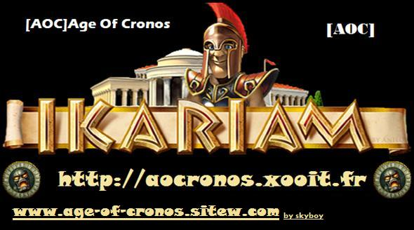 age of cronos Index du Forum
