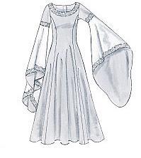 Les f es tisseuses robe d 39 inspiration m di vale - Dessiner un elfe ...