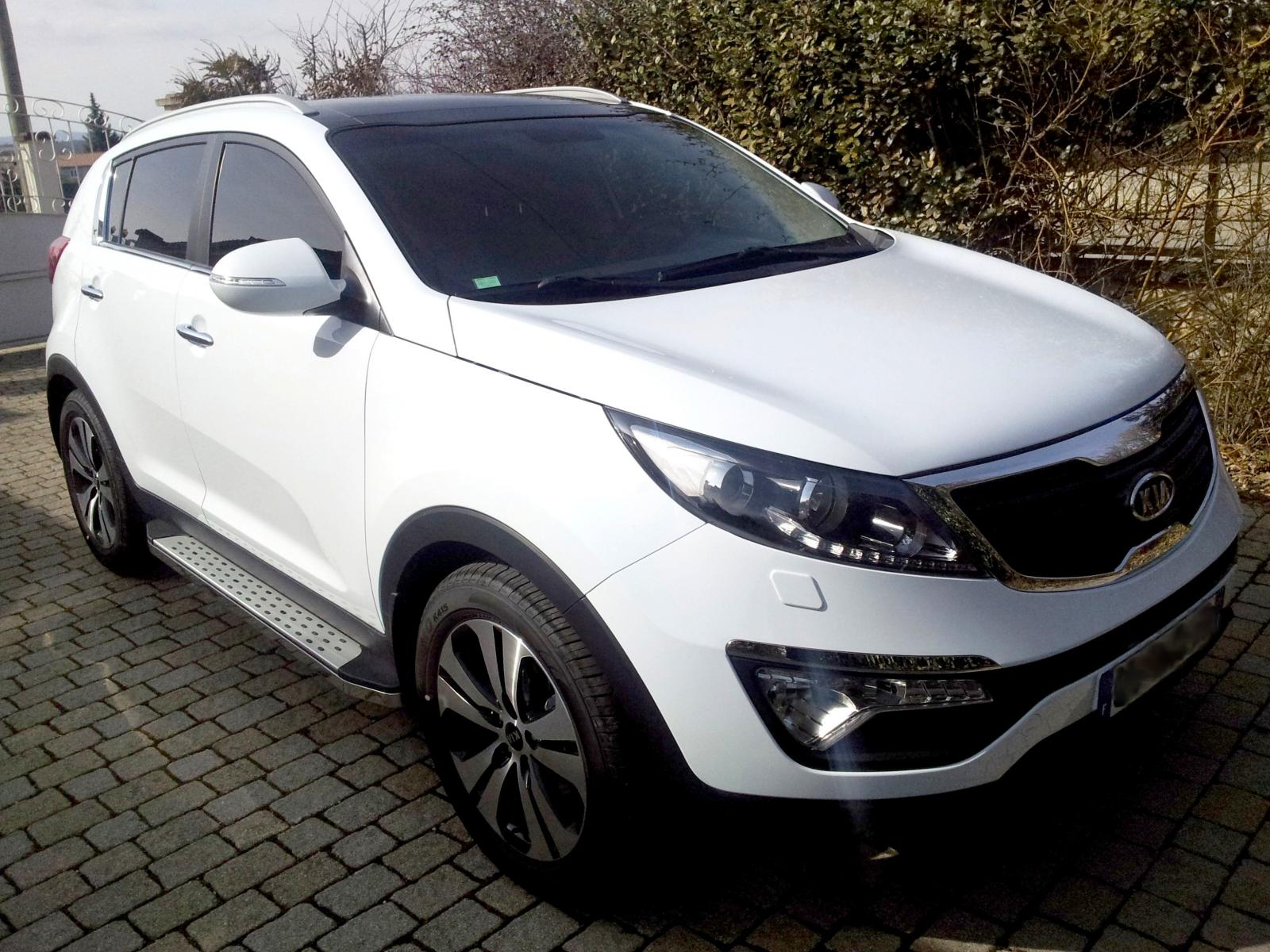 forum du kia sportage iii et iv bonne f te ma belle elle a 1000 kms. Black Bedroom Furniture Sets. Home Design Ideas