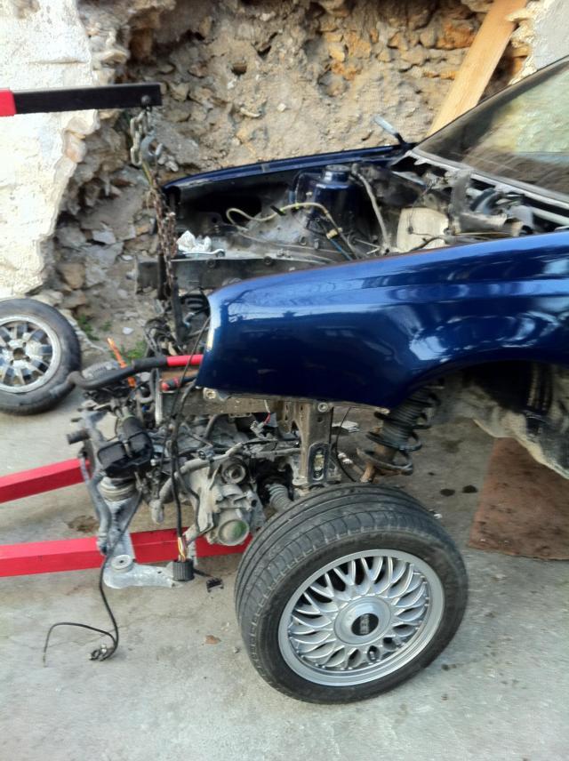Passion-Corrado :: Golf 3 Cab swap VR6 de Fréko91