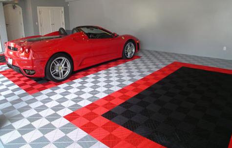 Importer auto et sportive de luxe exp rience dalles for Carrelage pour garage voiture