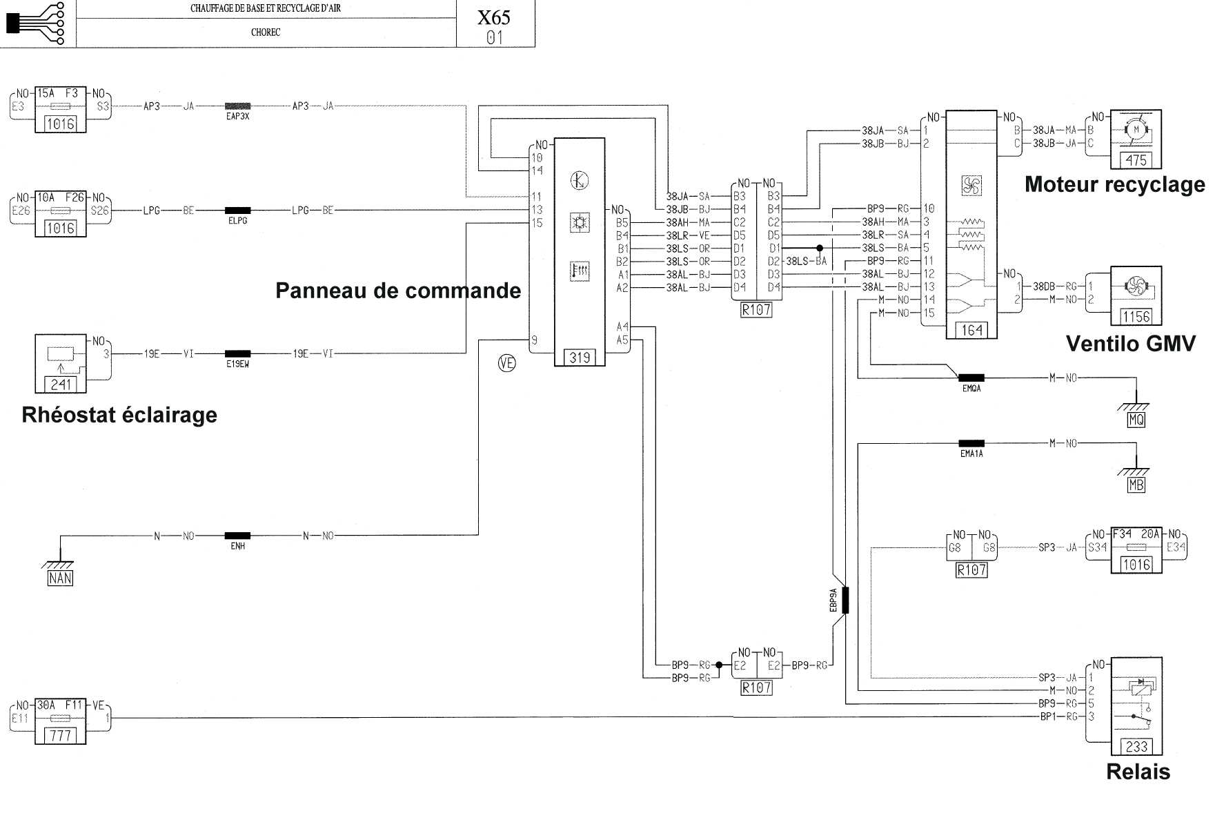 Sch 233 Ma 233 Lectrique Du Motoventillateur Clio Rs Concept