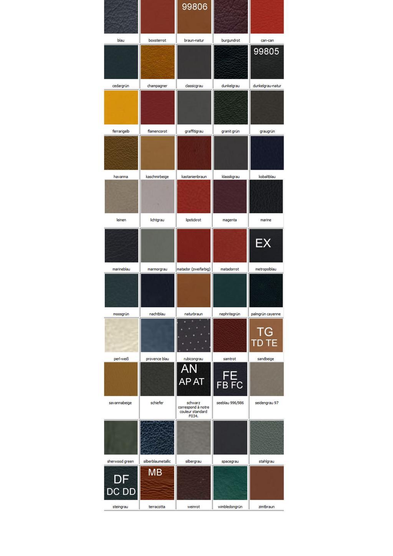 Importer auto et sportive de luxe codes couleur int rieur cuir porsche - Code couleur gris ...