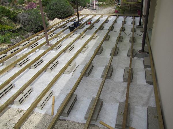 V2 - Monter une terrasse en bois ...