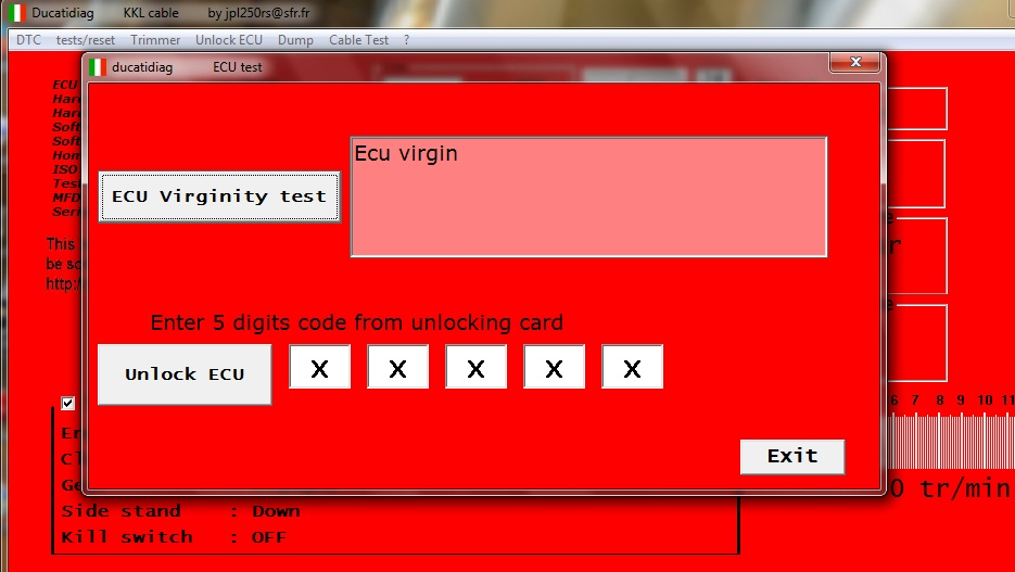 JPDiag :: 1098 ECU/Dash questions