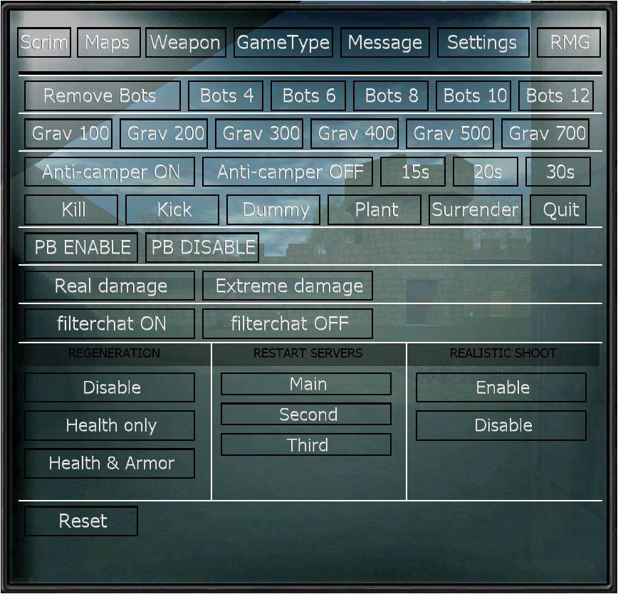 CU] Clans United :: brp clientmod active on cu server