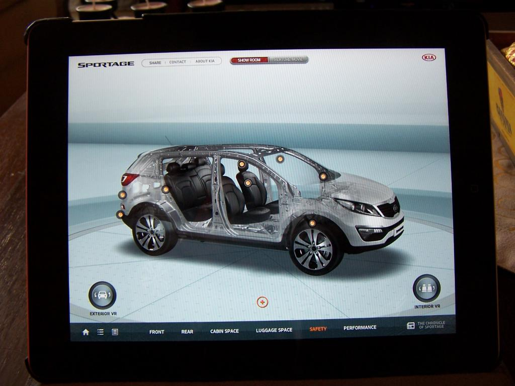 forum du kia sportage iii et iv application kia sportage pour ipad. Black Bedroom Furniture Sets. Home Design Ideas