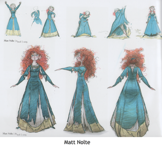 patron couture robe merida