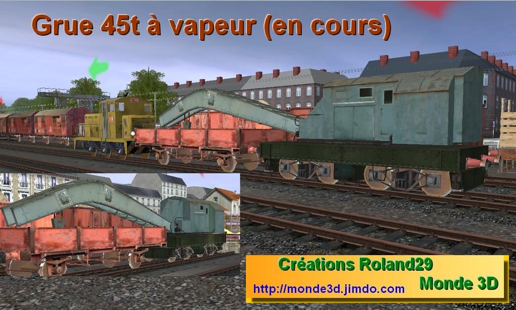 Trainz Orient Express :: Grue 45t à vapeur