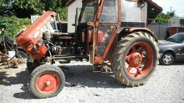 Bricauboisaufer pour les 39 makers 39 du bricolage tracteur zetor 4511 de 1972 - Toupie qui compte les tours ...