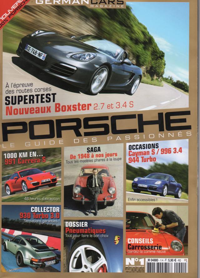 importer auto et sportive de luxe nouveau magazine sp cialis porsche le n 1. Black Bedroom Furniture Sets. Home Design Ideas