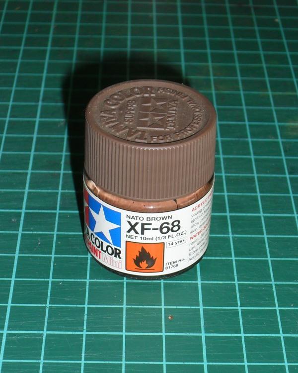 Rc panzer effet rouille for Peinture couleur rouille