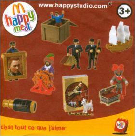 Occasion/Soldes  Figurine Tintin Officielle Macdonald's Les Dupondt