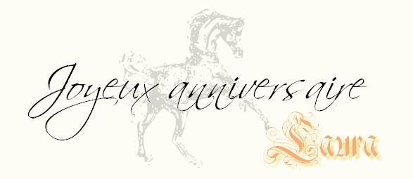 Tout En Crins Forum Cheval Et Equitation Bon Anniversaire Laura