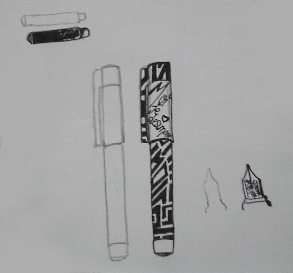 """Tutoriel sur les """"objets pour l'école"""" : Stylo et crayon mise en page Himari"""