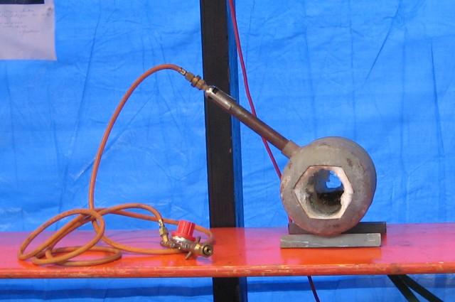 Le retour du coupe chou mini forge a gaz - Forge a gaz ...