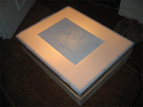 Les f es tisseuses divers table lumineuse - Table a dessin lumineuse ...