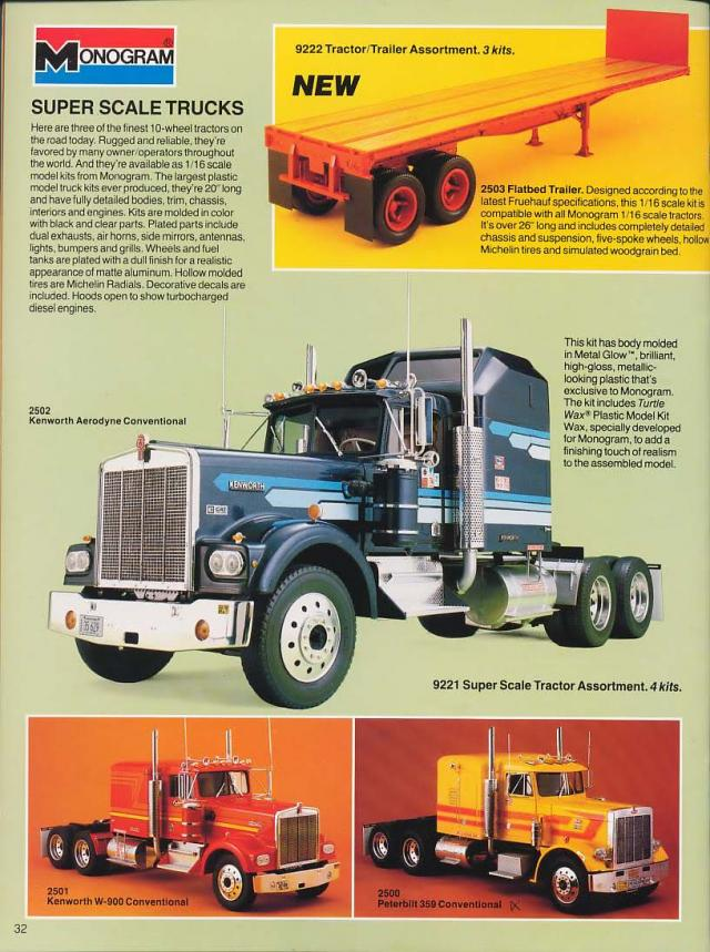 maquette camion 1/16